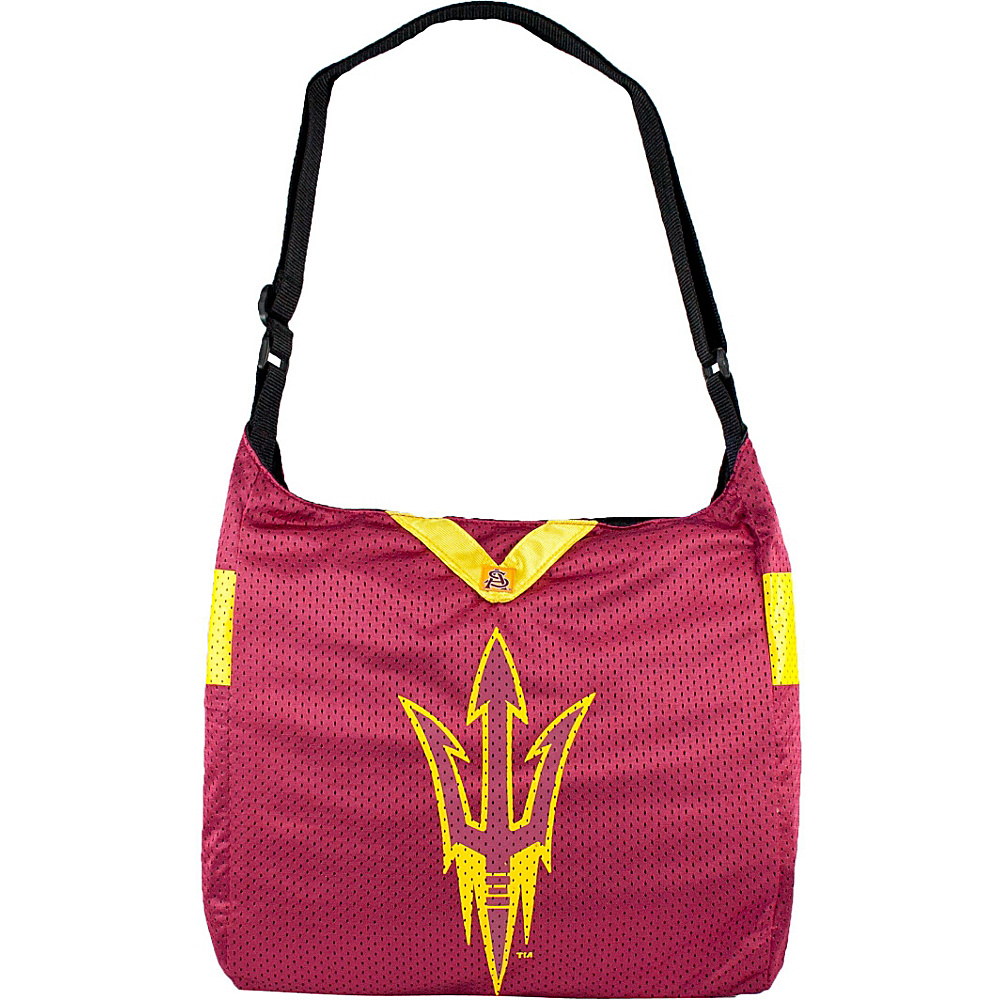 Littlearth Team Jersey Shoulder Bag - Pac-12 Teams Arizona State University - Littlearth Fabric Handbags - Handbags, Fabric Handbags