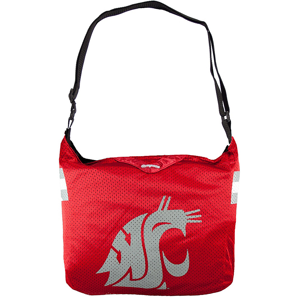 Littlearth Team Jersey Shoulder Bag - Pac-12 Teams Washington State University - Littlearth Fabric Handbags - Handbags, Fabric Handbags