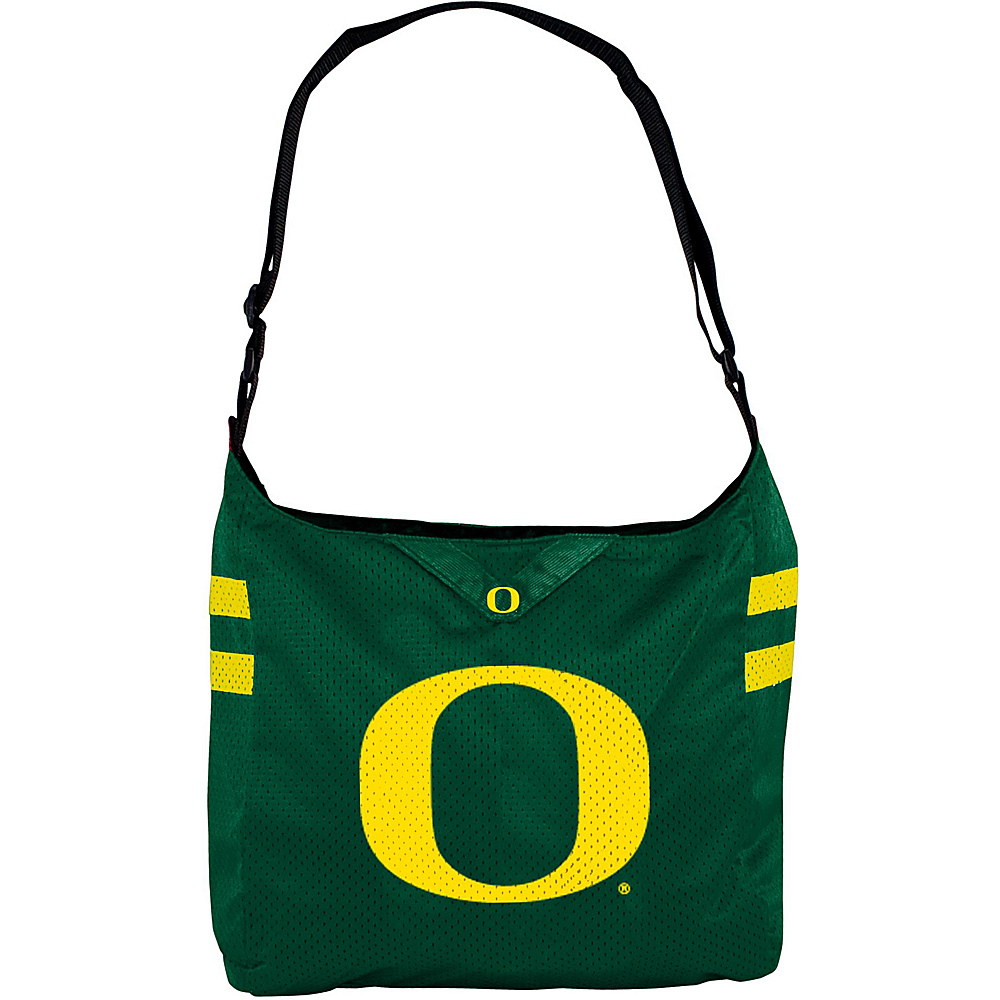 Littlearth Team Jersey Shoulder Bag - Pac-12 Teams University of Oregon - Littlearth Fabric Handbags - Handbags, Fabric Handbags
