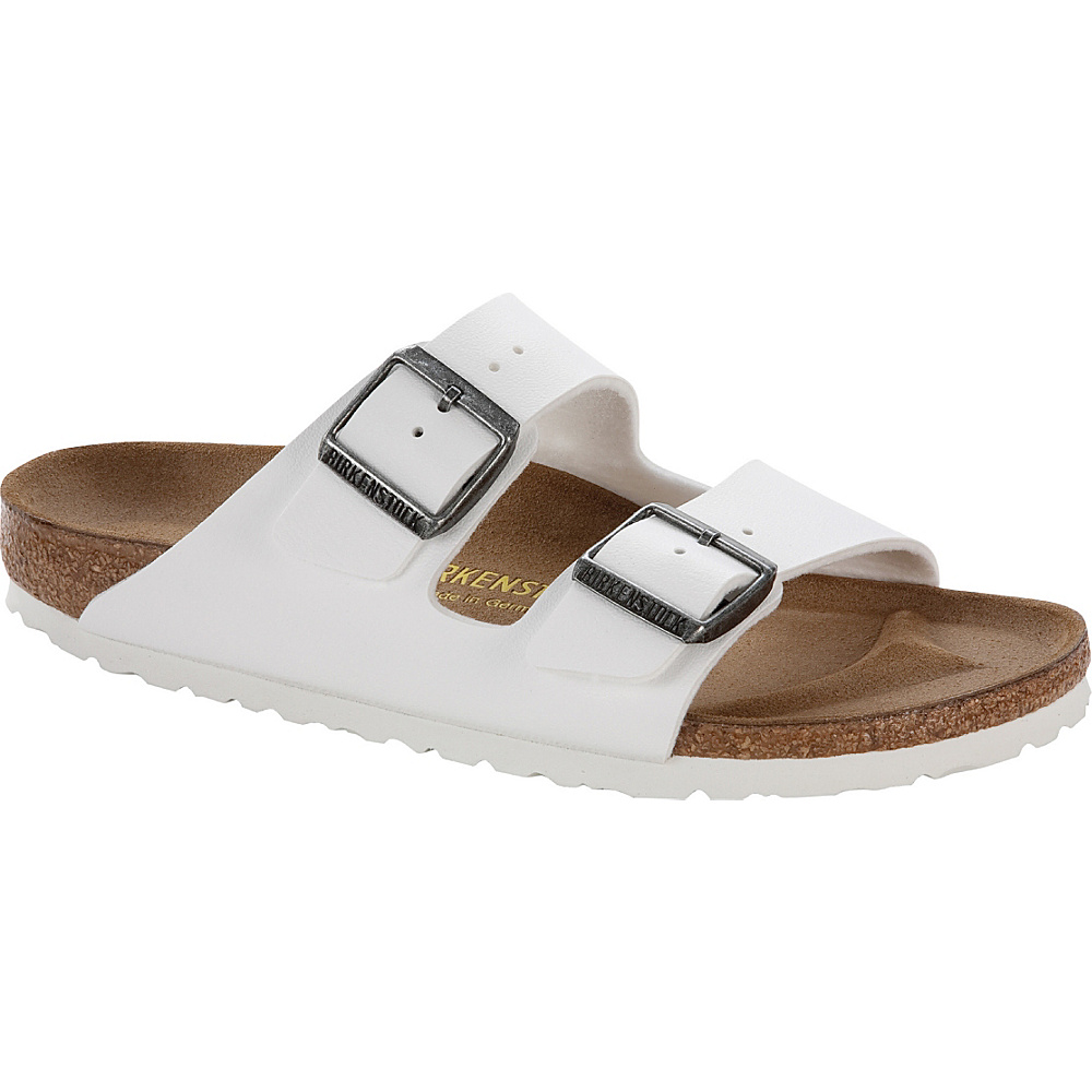Birkenstock Arizona 37 US Women s 6 6.5 M Regular Medium White Birkenstock Men s Footwear