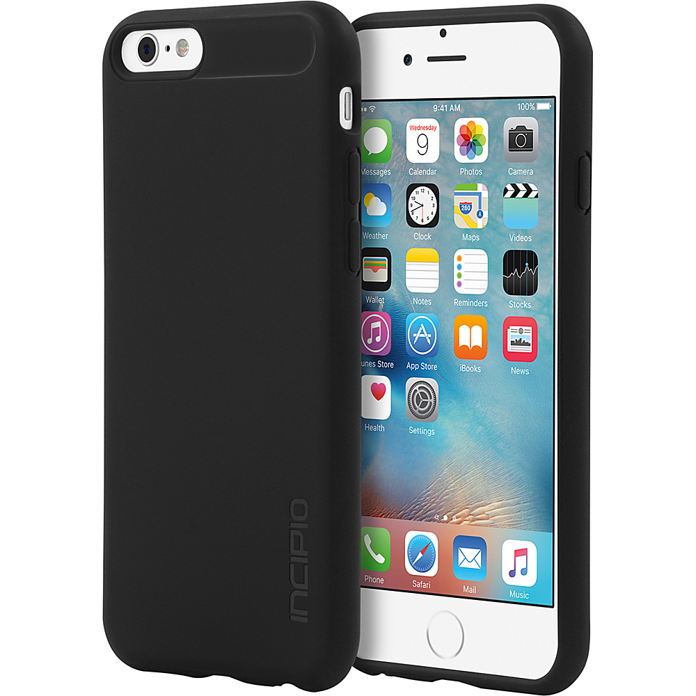 Incipio NGP for iPhone 6/6s Solid Black - Incipio Electronic Cases - Technology, Electronic Cases