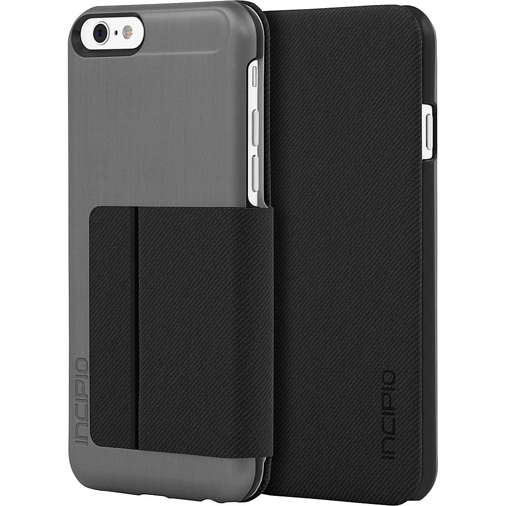 Incipio Highland for iPhone 6/6s Plus Gunmetal/Gray - Incipio Electronic Cases - Technology, Electronic Cases