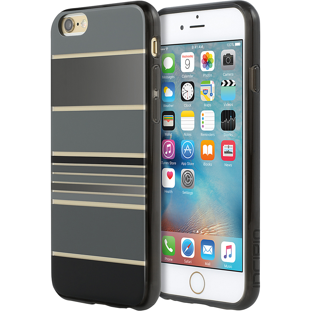 Incipio Design Series for iPhone 6/6s Plus Hensley Stripes Black - Incipio Electronic Cases - Technology, Electronic Cases