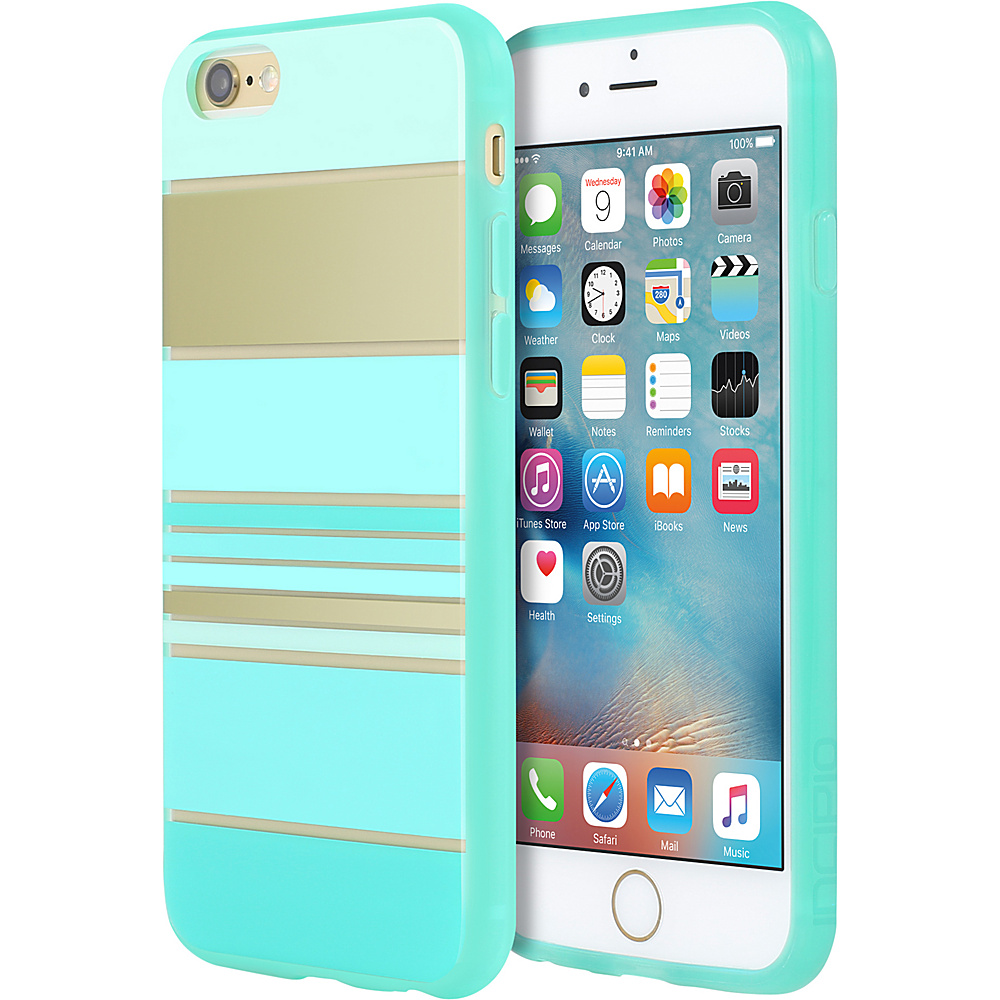 Incipio Design Series for iPhone 6/6s Plus Hensley Stripes Teal - Incipio Electronic Cases - Technology, Electronic Cases