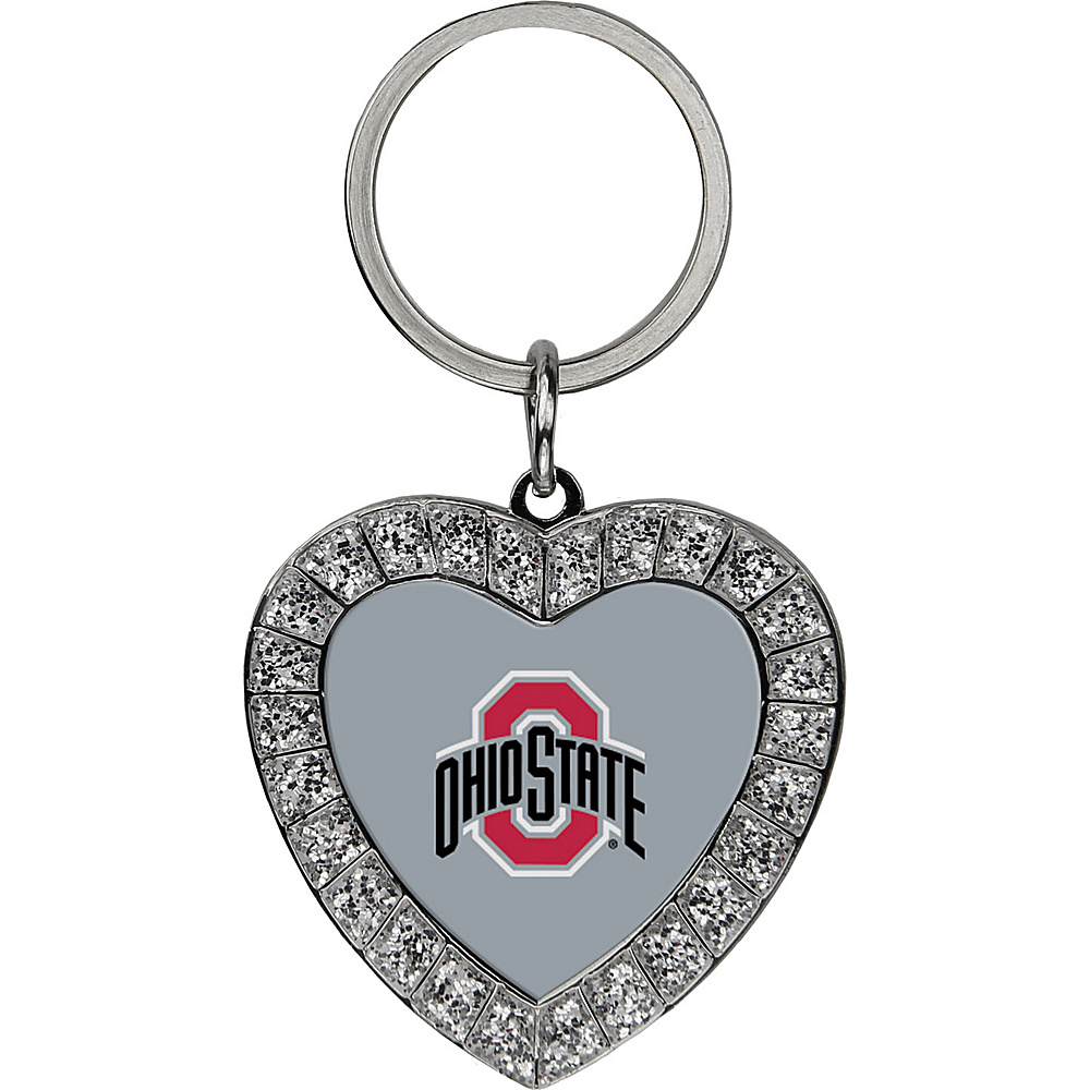 Luggage Spotters NCAA Ohio State Buckeyes Rhinestone Key Chain Gray - Luggage Spotters Ladies Key/Card/Coins Cases