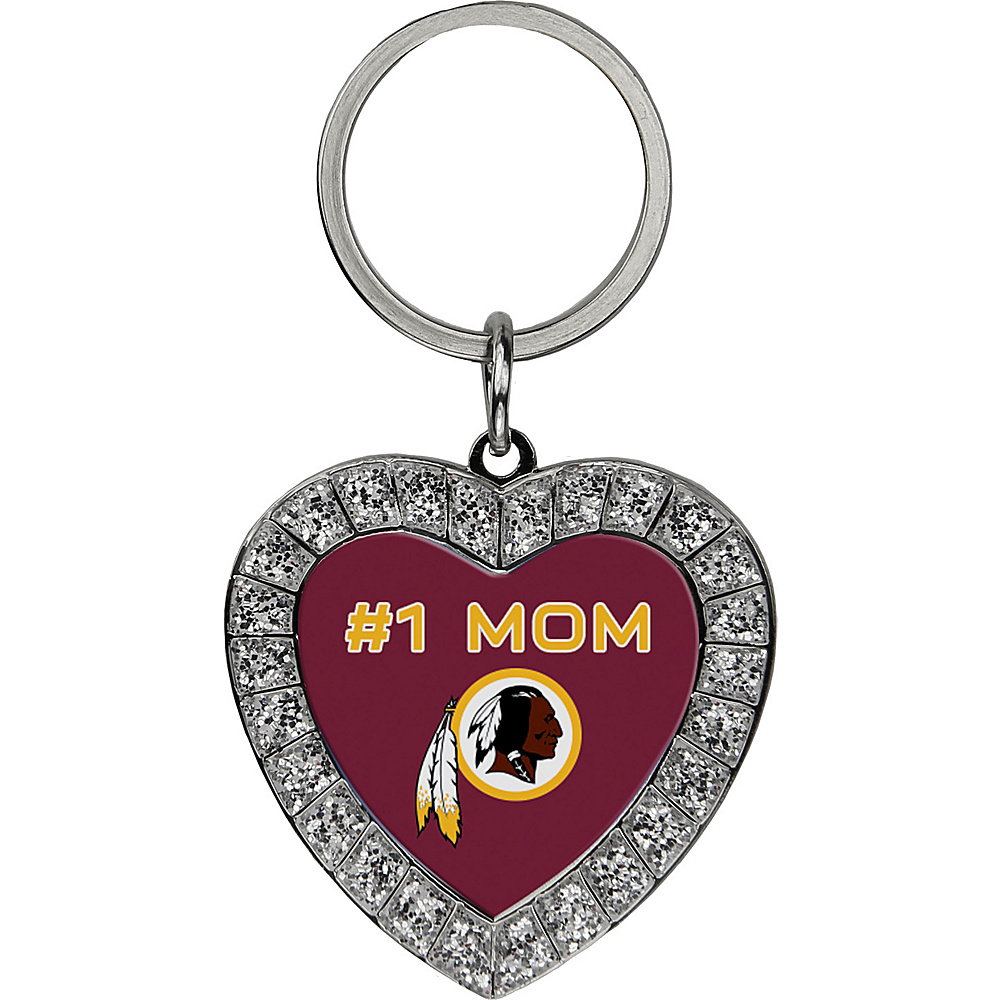 Luggage Spotters NFL Washington Redskins #1 Mom Key Chain Yellow - Luggage Spotters Women's SLG Other