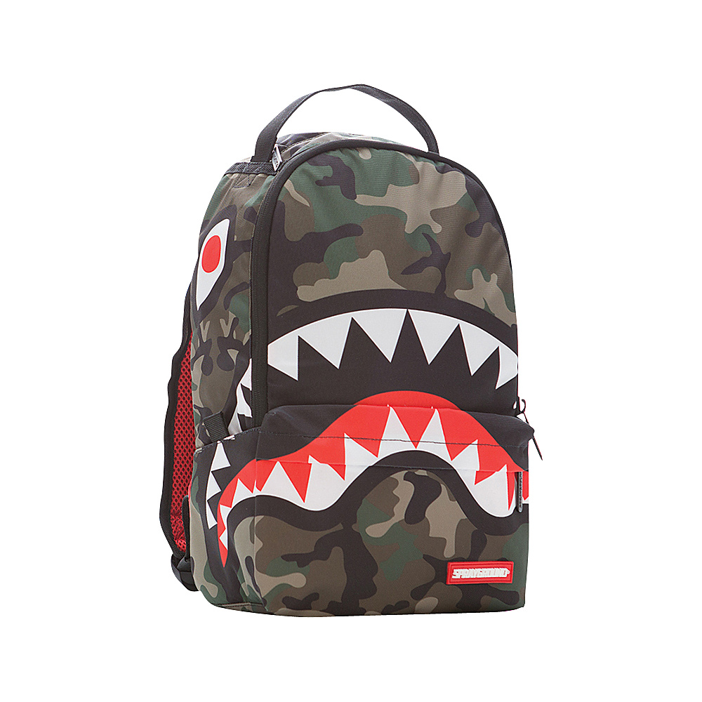 Sprayground Lil Camo Shark Backpack - Camo Assorted