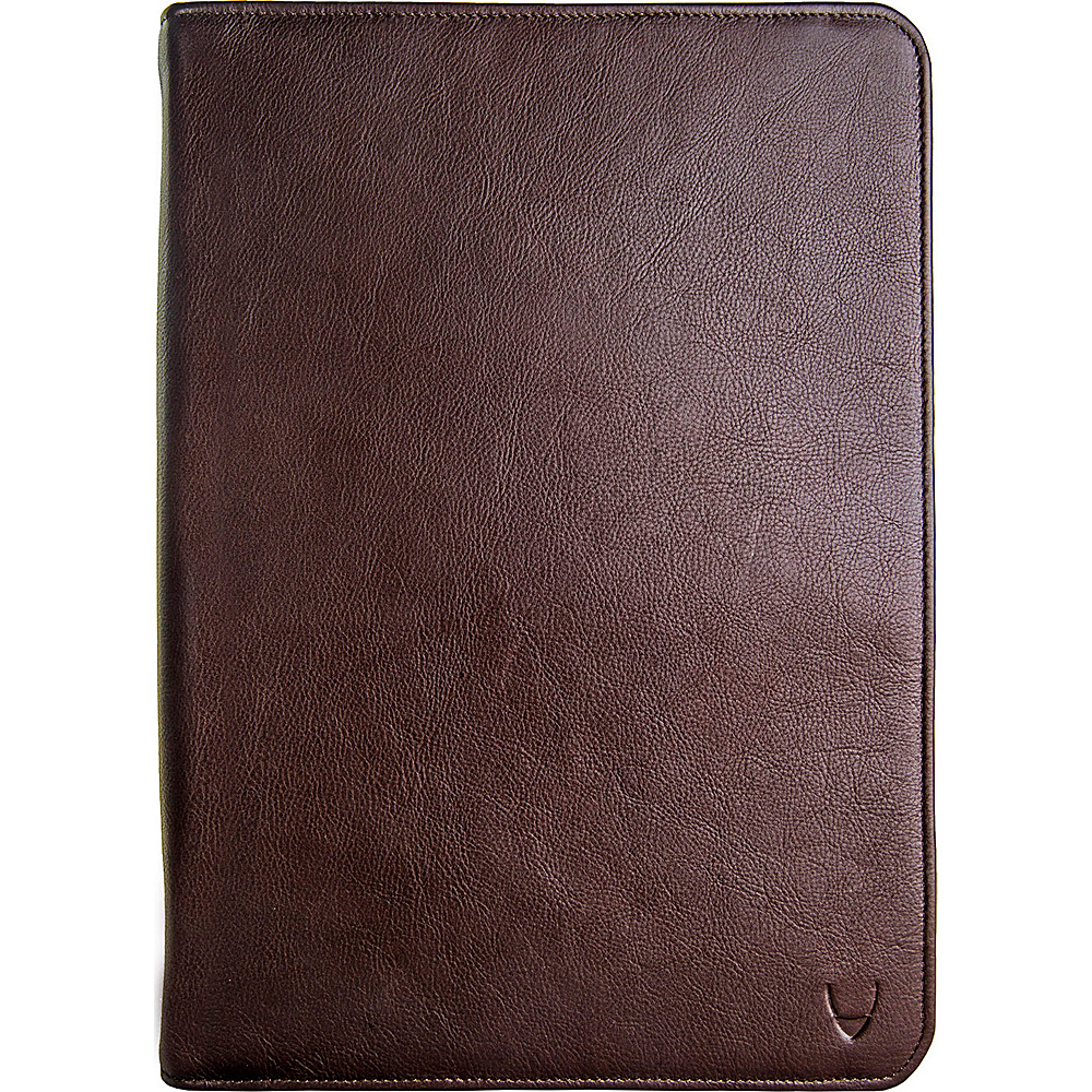 Hidesign IMG iPad Leather Portfolio Padfolio with Handmade Paper Notebook Brown Hidesign Business Accessories