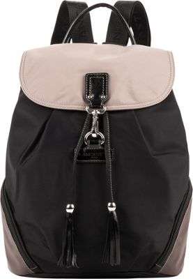 Lancaster Paris Nylon Tassel Traveler Black Multi - Lancaster Paris Fabric Handbags