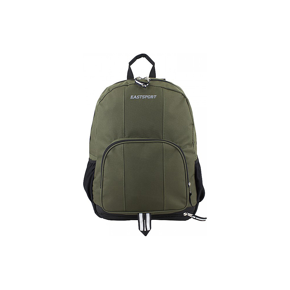 Eastsport Classic Backpack Army Green Eastsport Everyday Backpacks