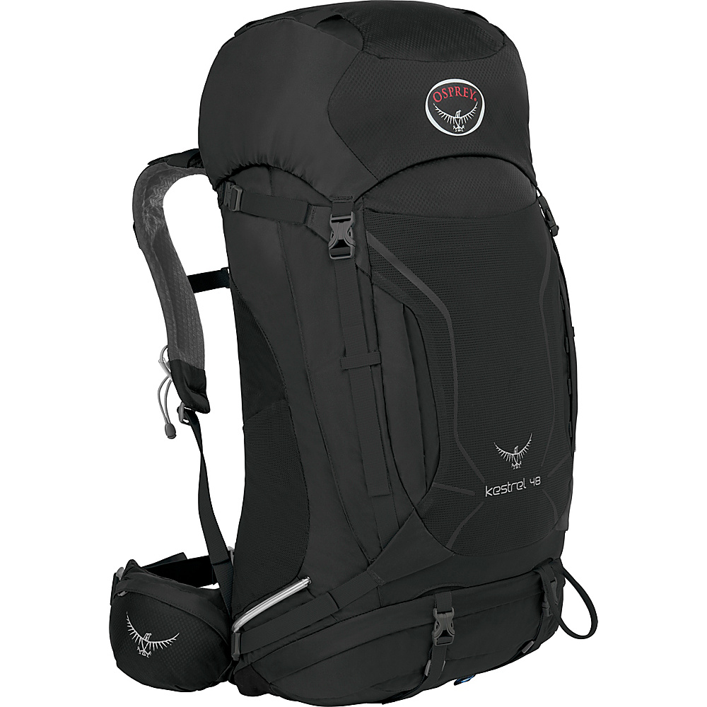 Osprey Kestrel 48 Hiking Backpack Ash Grey - S/M - Osprey Backpacking Packs - Outdoor, Backpacking Packs