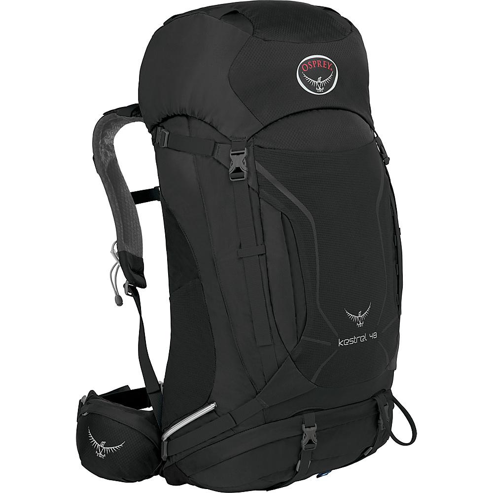 Osprey Kestrel 48 Hiking Backpack Ash Grey - M/L - Osprey Backpacking Packs - Outdoor, Backpacking Packs