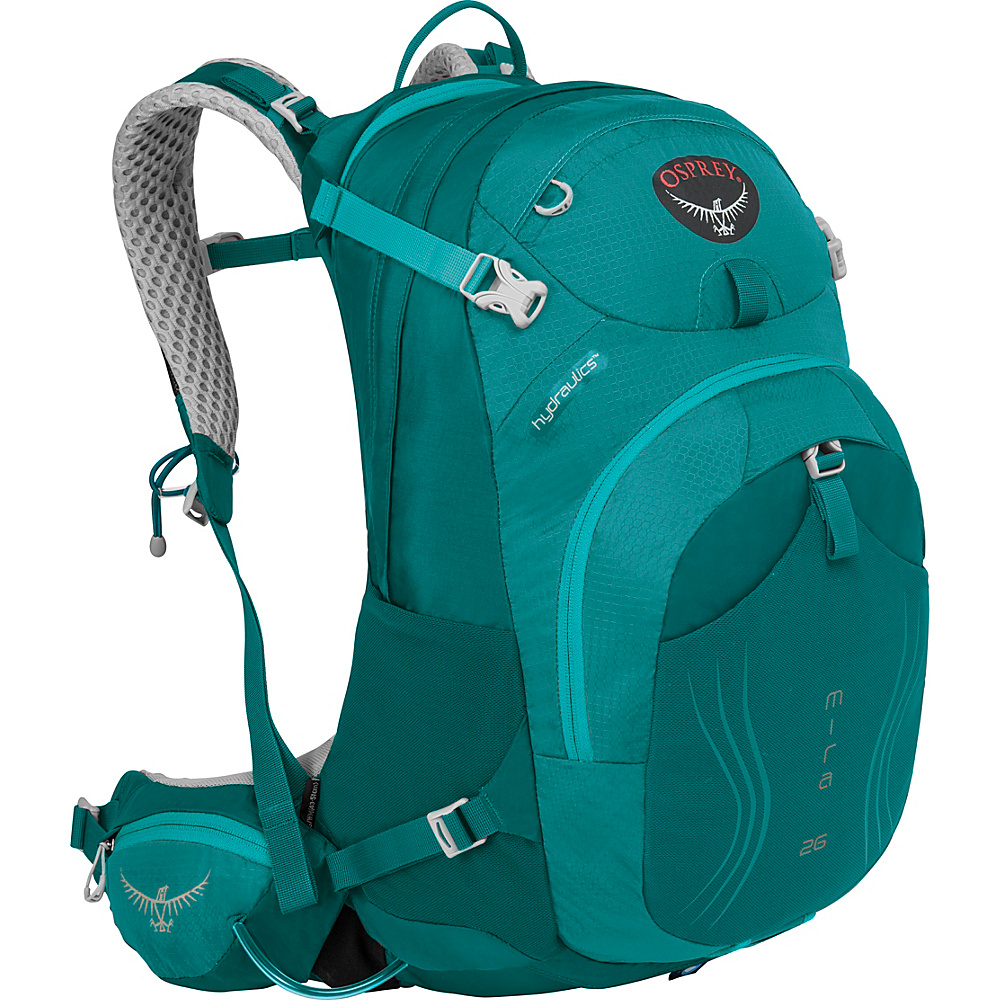 Osprey Mira AG 26 Hydration Pack Bondi Blue - XS/S - Osprey Day Hiking Backpacks - Outdoor, Day Hiking Backpacks