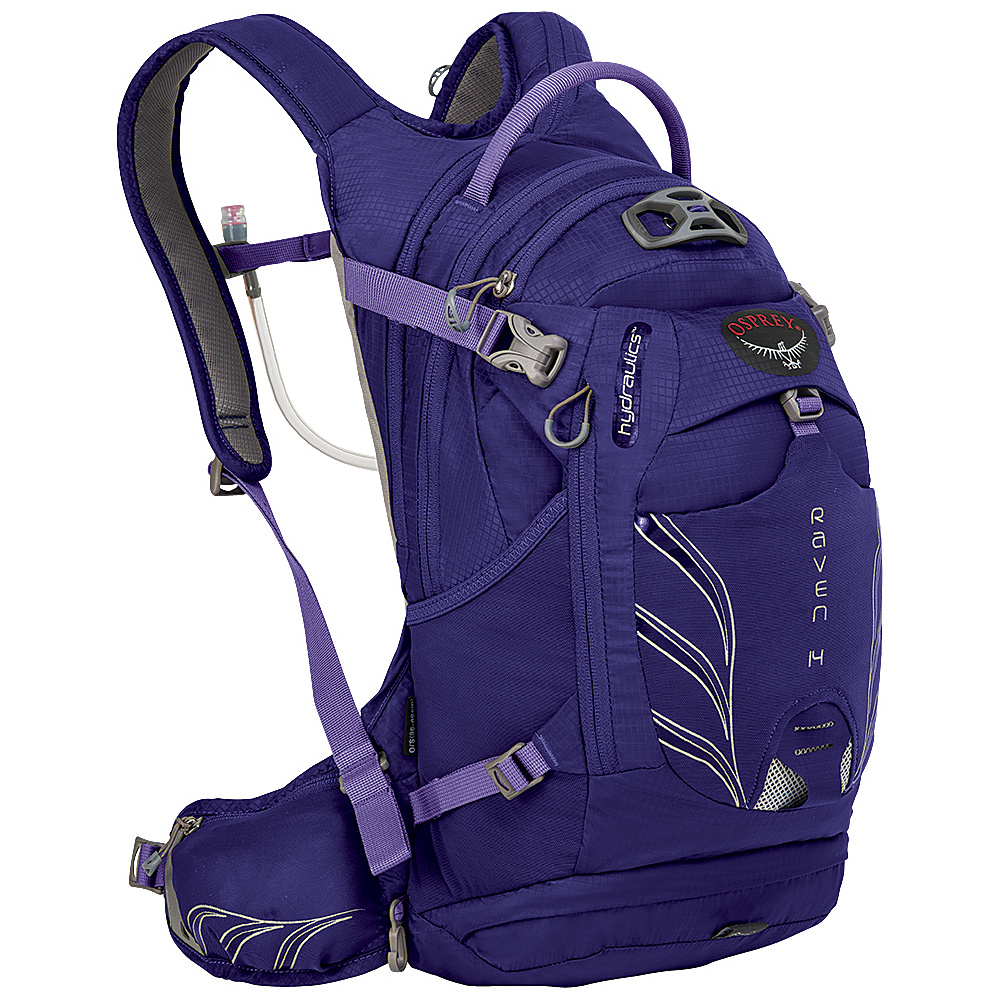 Osprey Raven 14 Biking Backpack Royal Purple - Osprey Day Hiking Backpacks - Outdoor, Day Hiking Backpacks
