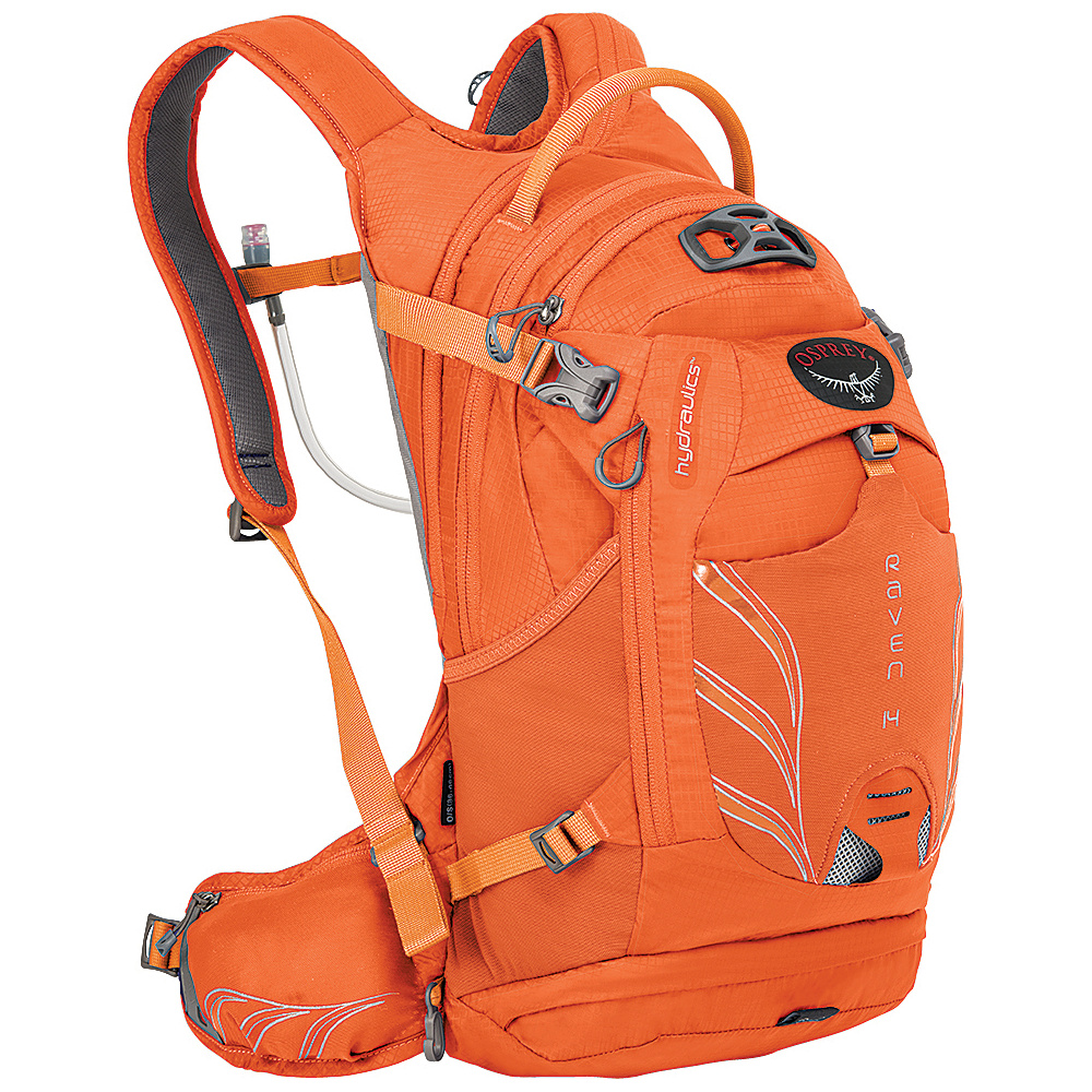 Osprey Raven 14 Biking Backpack Tiger Orange - Osprey Day Hiking Backpacks - Outdoor, Day Hiking Backpacks