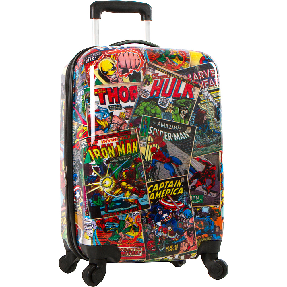 Heys America Marvel Comics 21 MULTICOLOR Heys America Hardside Carry On