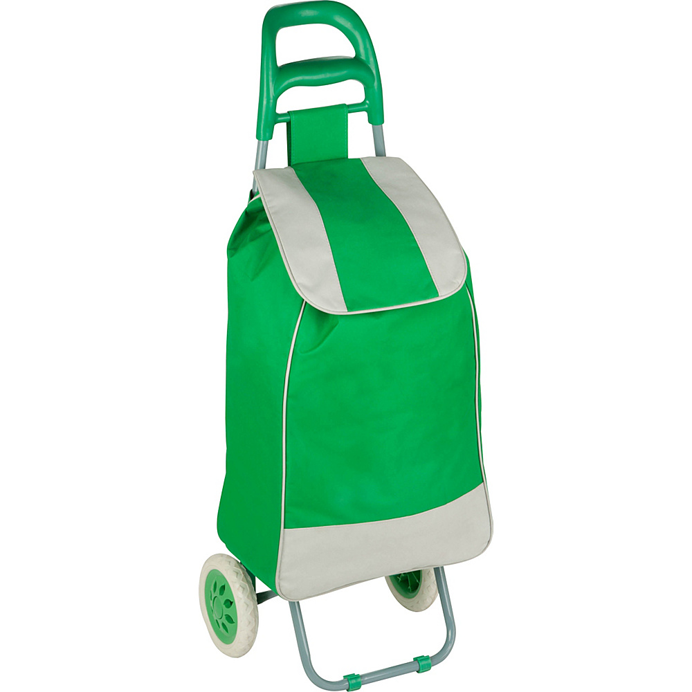Honey Can Do Rolling Fabric Cart green Honey Can Do Luggage Accessories