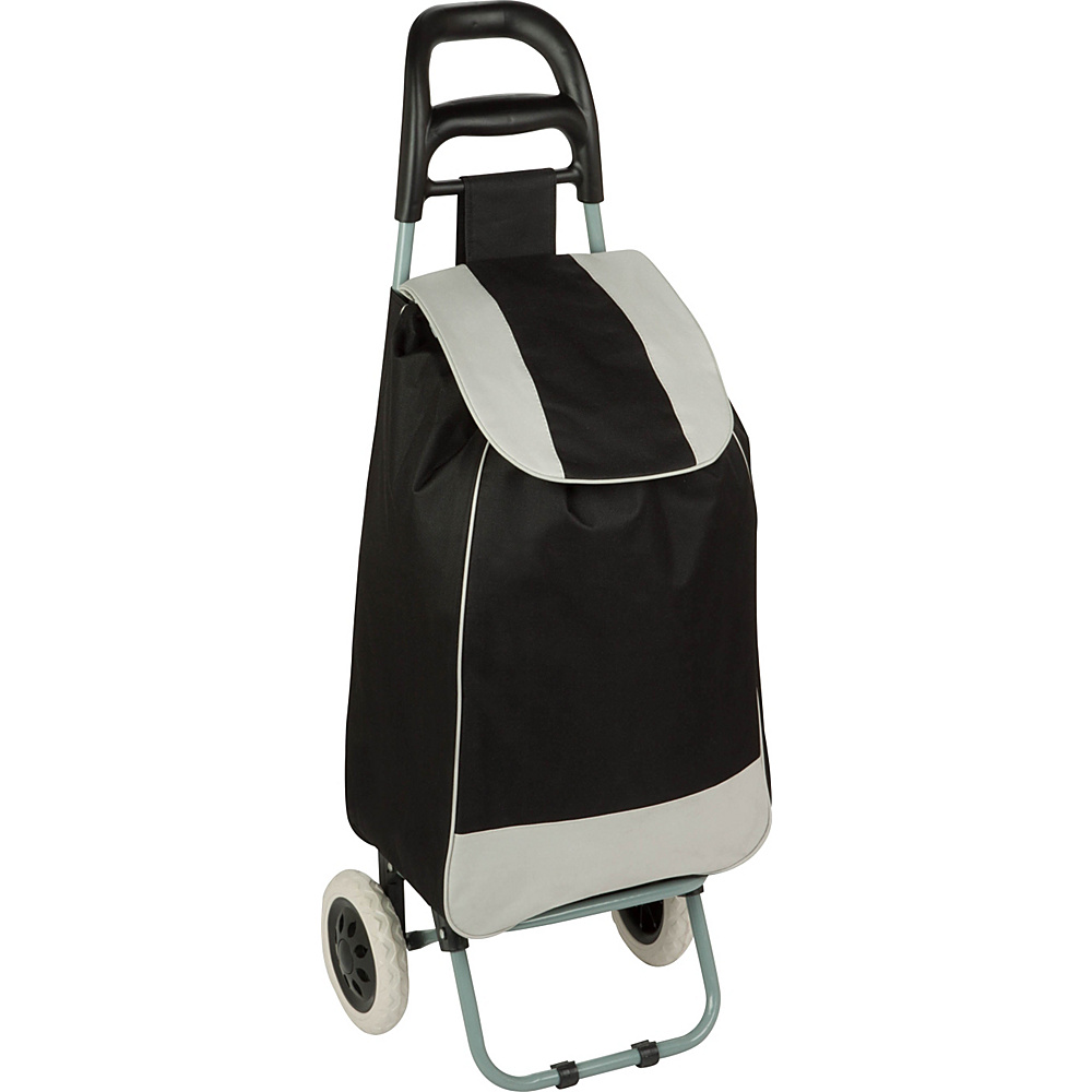 Honey Can Do Rolling Fabric Cart Black Honey Can Do Luggage Accessories