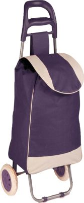 Honey-Can-Do Rolling Fabric Cart purple - Honey-Can-Do Luggage Accessories