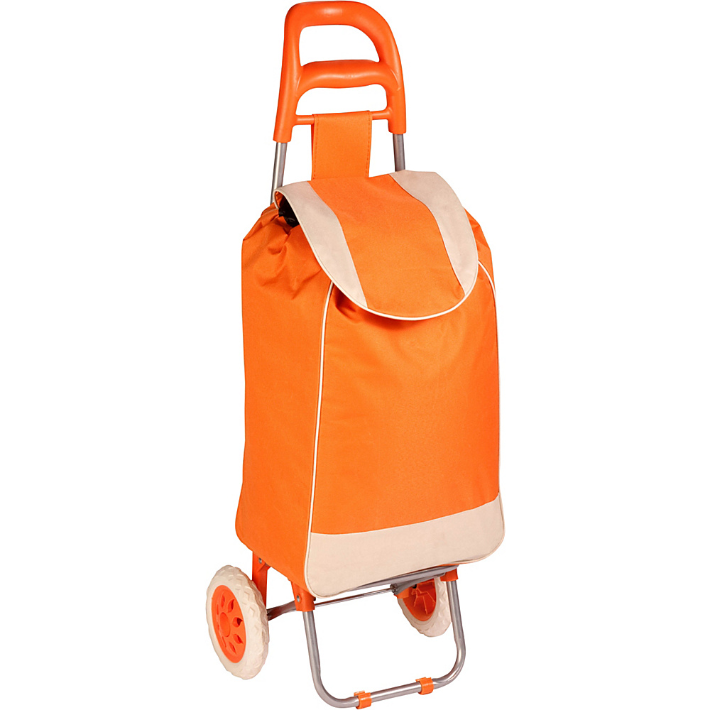 Honey Can Do Rolling Fabric Cart orange Honey Can Do Luggage Accessories