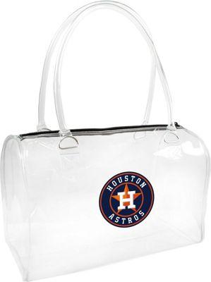 Littlearth Clear Bowler - MLB Teams Houston Astros - Littlearth Manmade Handbags