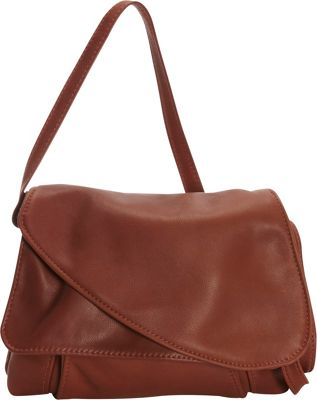 Victoria Leather Tulip Crossbody Cognac - Victoria Leather Leather Handbags