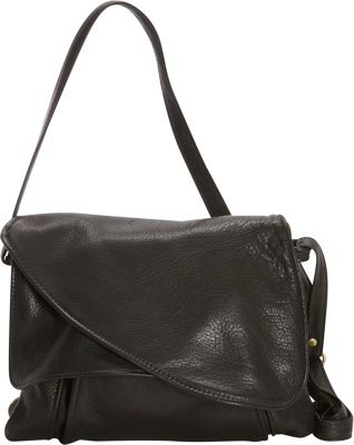 Victoria Leather Tulip Crossbody Black - Victoria Leather Leather Handbags