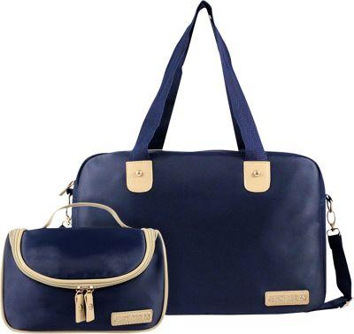 jacki design 2 duffel and hanging travel bag set