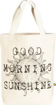 Life is good Engraved Message Tote Natural - Sunshine - Life is good Fabric Handbags