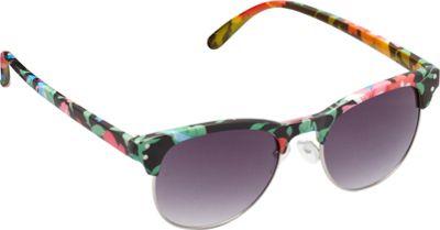 Unionbay Eyewear Retro Floral Sunglasses Black Floral - Unionbay Eyewear Sunglasses