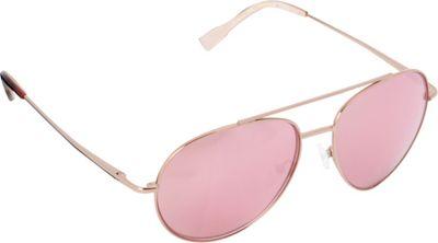 Elie Tahari Sunglasses Oversized Glam Aviator Sunglasses Rose Gold/Tortoise/ Pink - Elie Tahari Sunglasses Sunglasses