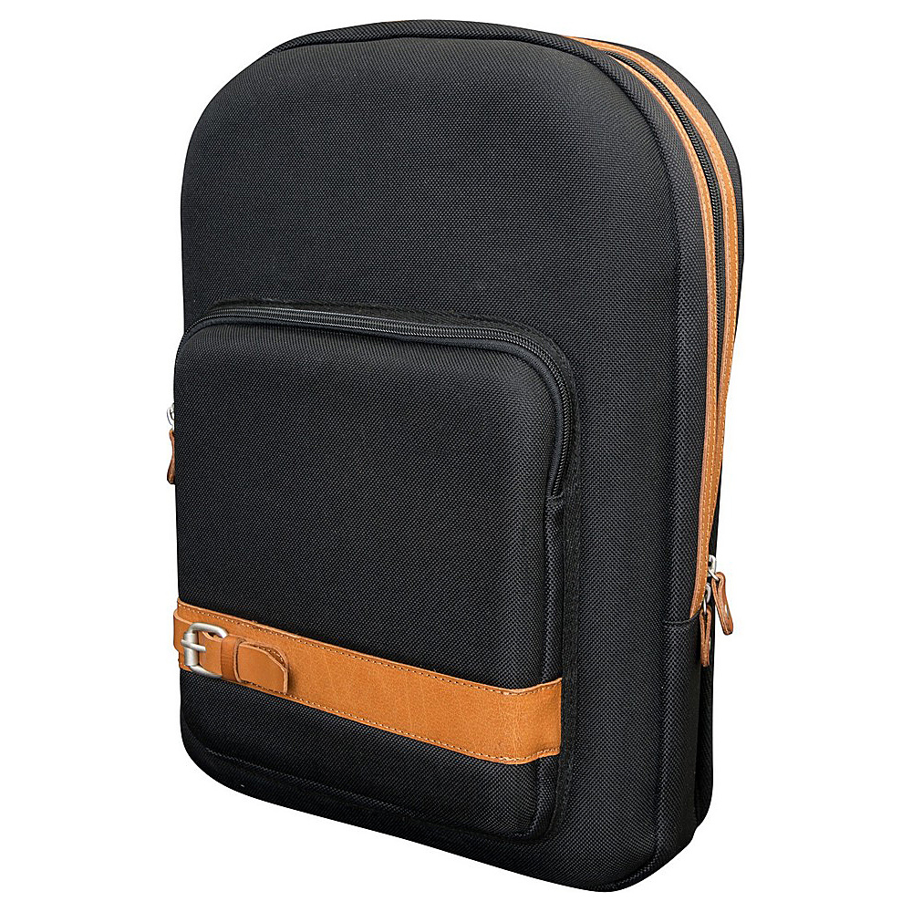 Canyon Outback Urban Edge Dawson Computer Backpack Black - Canyon Outback Business & Laptop Backpacks