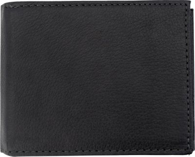 Canyon Outback Leather Grand Lake Leather Convertible Wallet Black - Canyon Outback Men's Wallets