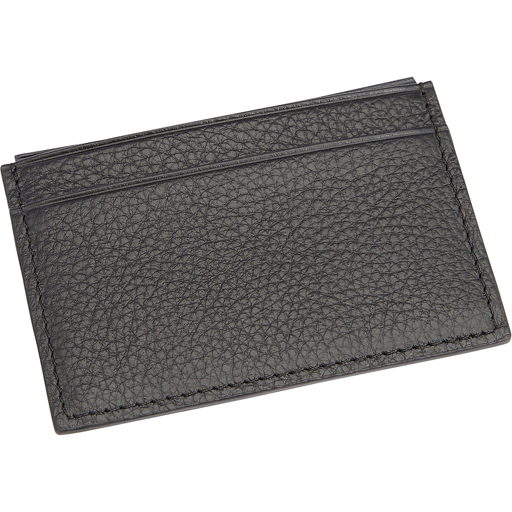Royce Leather Luxury RFID Blocking Credit Card Wallet Black - Royce Leather Travel Wallets - Travel Accessories, Travel Wallets