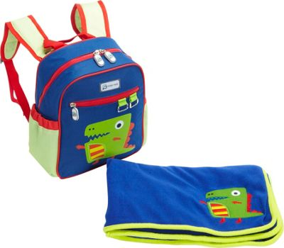 Sydney Paige Buy One/Give One Toddler Backpack + Blanket Set Dino - Sydney Paige Everyday Backpacks