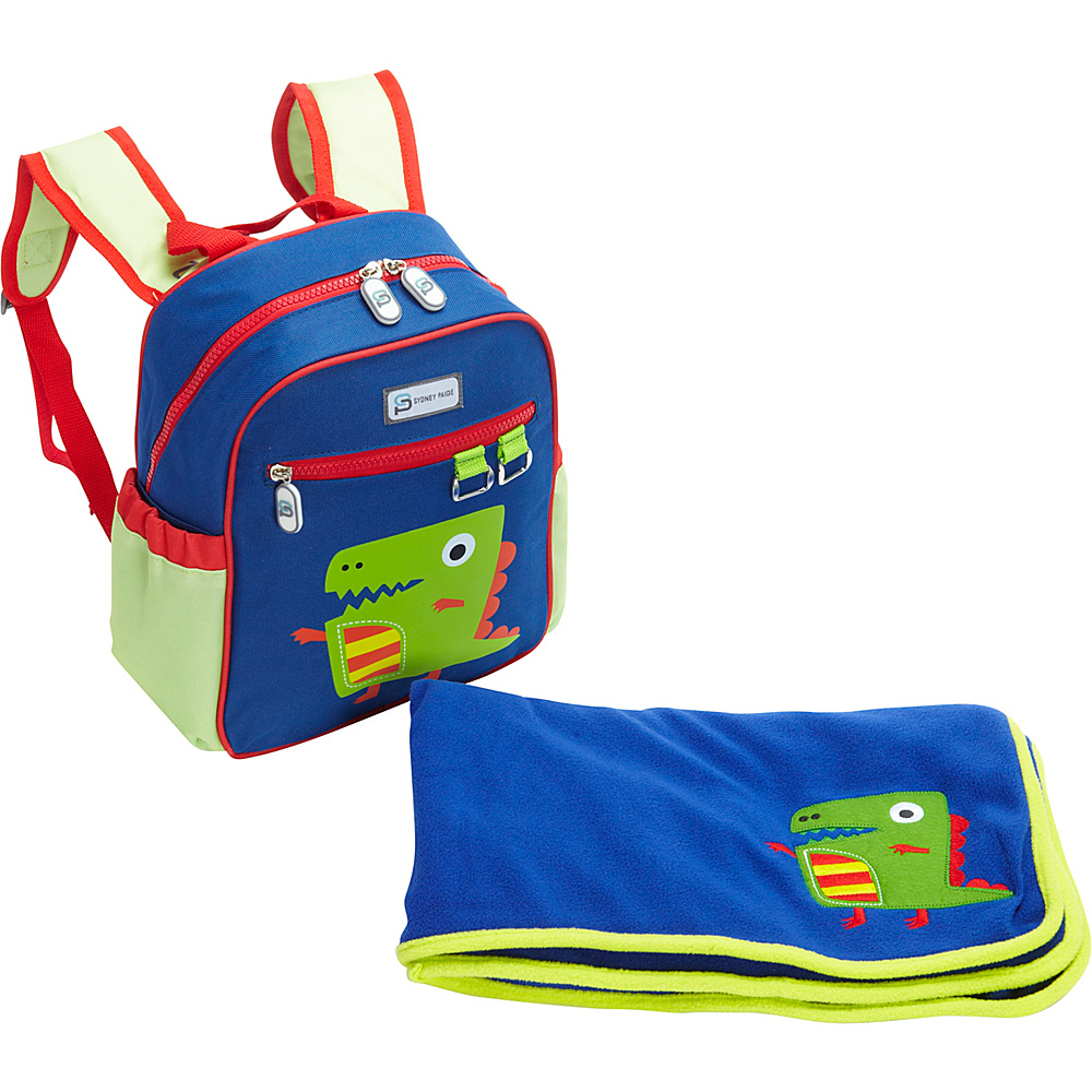 Sydney Paige Buy One/Give One Toddler Backpack + Blanket Set Dino - Sydney Paige Everyday Backpacks