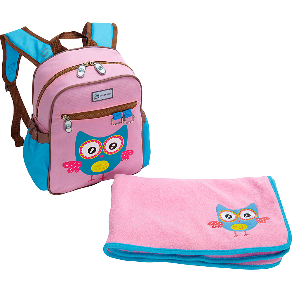 Sydney Paige Buy One/Give One Toddler Backpack + Blanket Set Owl - Sydney Paige Everyday Backpacks