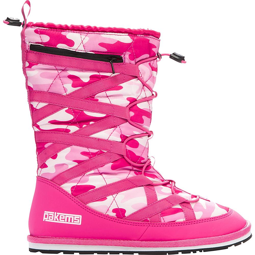 Pakems Kids Cortina Boot Pink Camo Kids Size 5 Pakems Women s Footwear