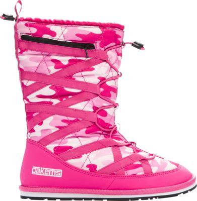 Pakems Kids' Cortina Boot Pink Camo - Kids Size 5 - Pakems Women's Footwear