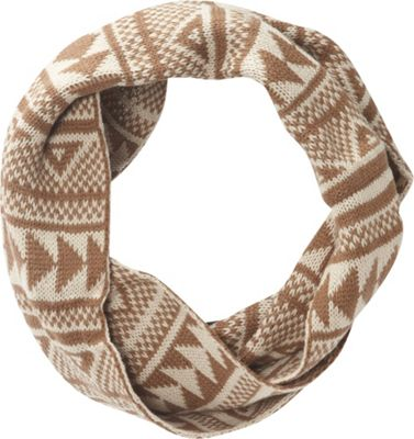 Jessica McClintock Scarves Geometric Print Chunky Infinity Scarf Camel/Natural - Jessica McClintock Scarves Hats/Gloves/Scarves