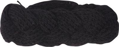 Jessica McClintock Scarves Knit Twist Headwrap One Size - Black - Jessica McClintock Scarves Hats/Gloves/Scarves