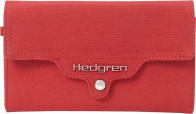 Hedgren Rectangular Wallet Chilli Pepper Red - Hedgren Ladies Clutch Wallets