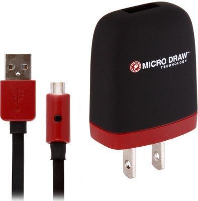 Xentris Micro USB Wall Charger Black - Xentris Travel Electronics