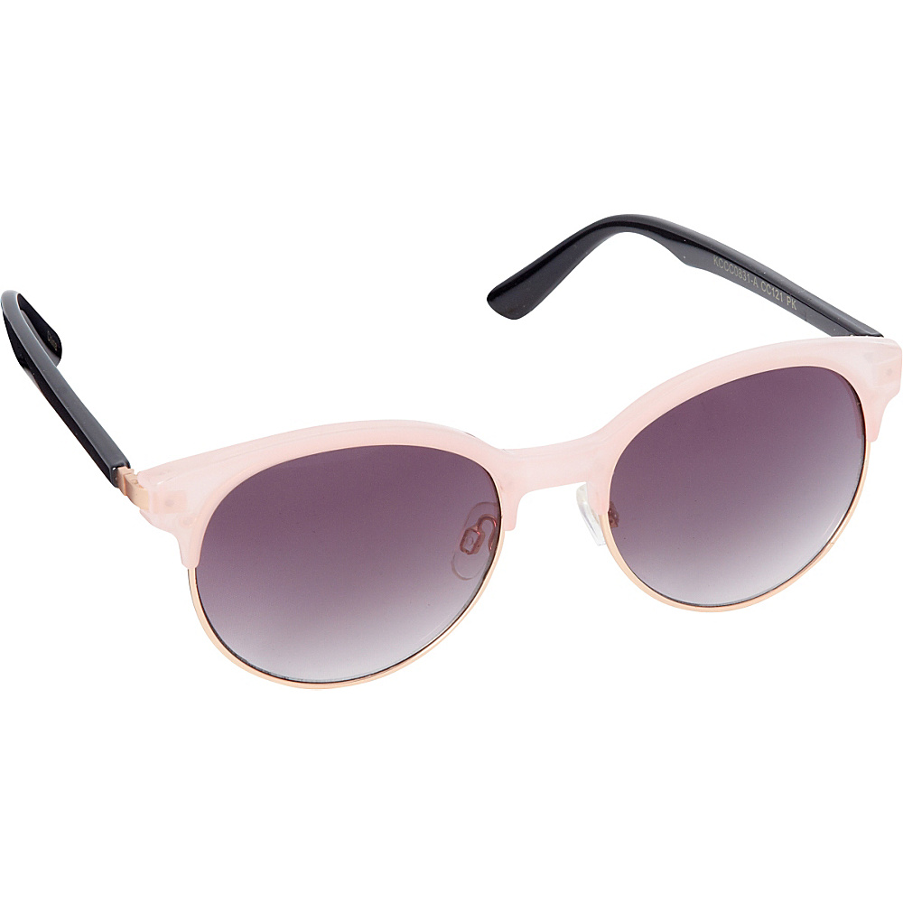 Circus by Sam Edelman Sunglasses Round Retro Sunglasses Pink Rose Gold Circus by Sam Edelman Sunglasses Sunglasses