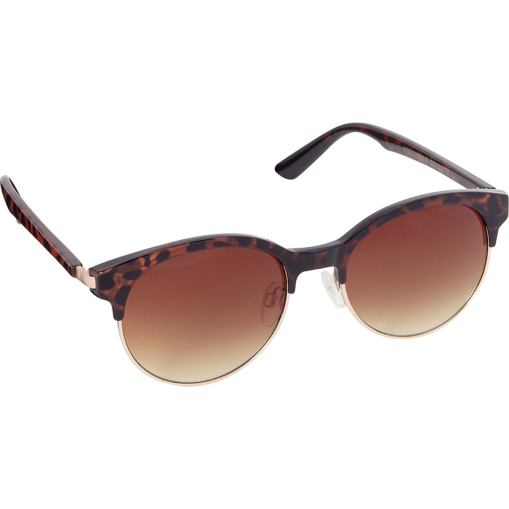 Circus by Sam Edelman Sunglasses Round Retro Sunglasses Tortoise Gold Circus by Sam Edelman Sunglasses Sunglasses