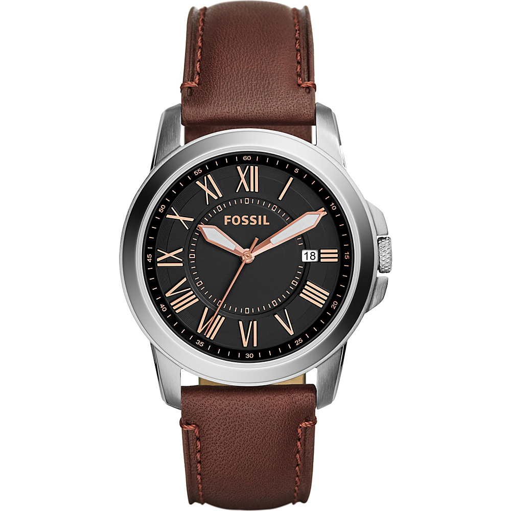 Fossil Grant Watch Brown - Fossil Watches - Fashion Accessories, Watches