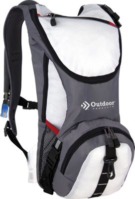 Outdoor Products Ripcord Hydration Pack BRIGHT WHITE - Outdoor Products Hydration Packs and Bottles