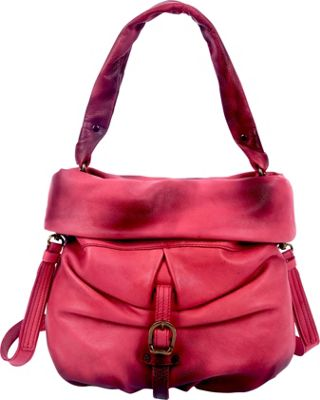 Old Trend Old Trend Lotus Bucket Bag Rose - Old Trend Leather Handbags