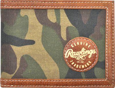 Rawlings Camo Bifold Camo Brown/Green - Rawlings Men's Wallets