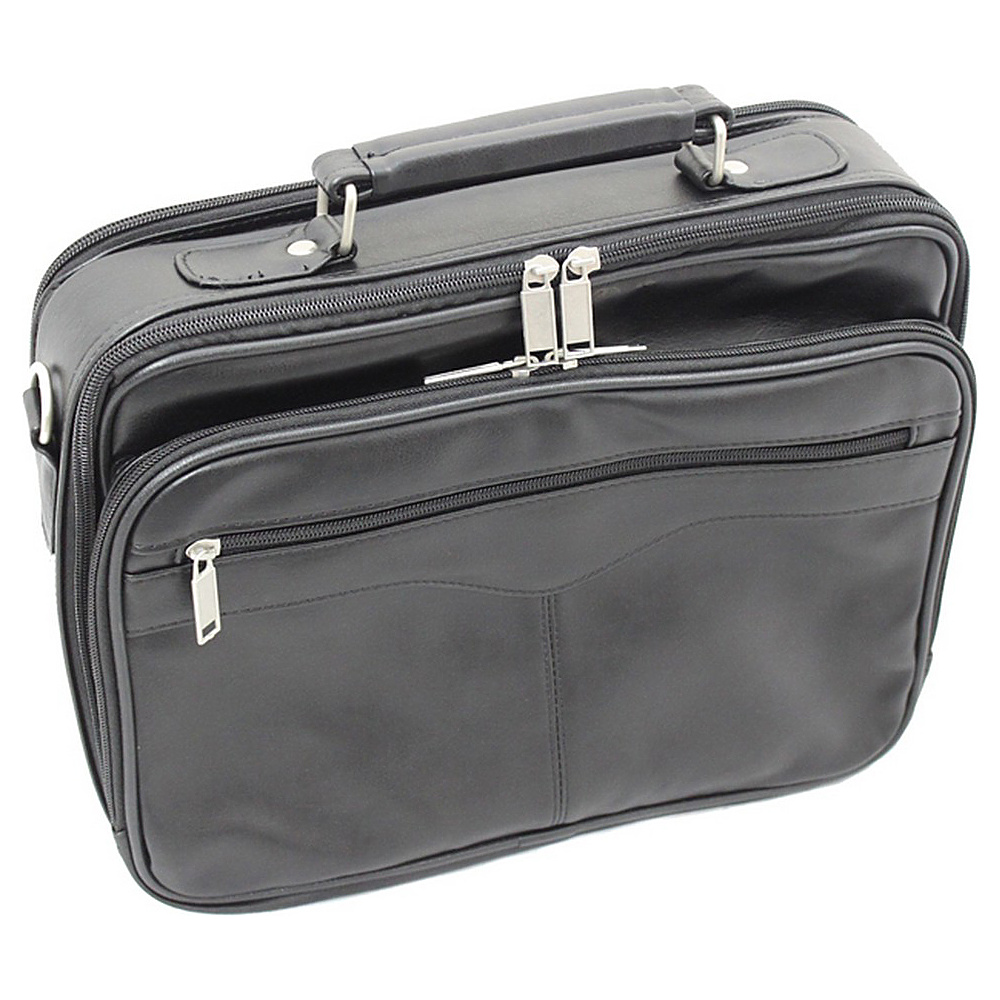 World Traveler Leatherette 13 Laptop Case Black World Traveler Non Wheeled Business Cases
